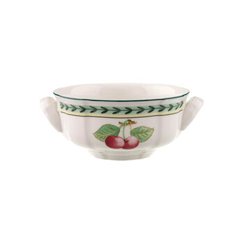 French Garden Fleurence soup cup