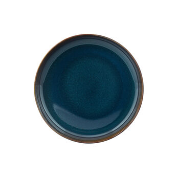 Crafted Denim soup plate, blue, 21.5 cm