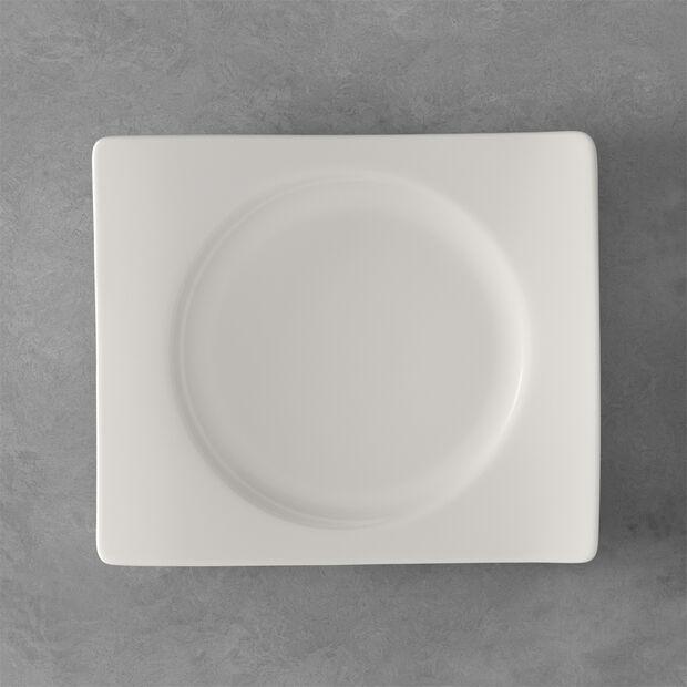 NewWave rectangular breakfast plate 24 x 22 cm, , large