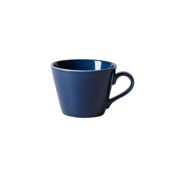 Organic Dark Blue coffee cup, dark blue, 270 ml