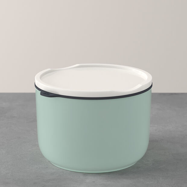 ToGo&ToStay lunch box, 13 x 9.5 cm, round, mint green, , large