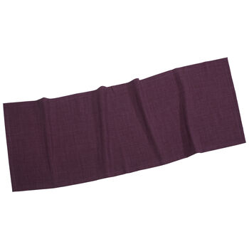 Textil Uni TREND Runner violet 50x140cm