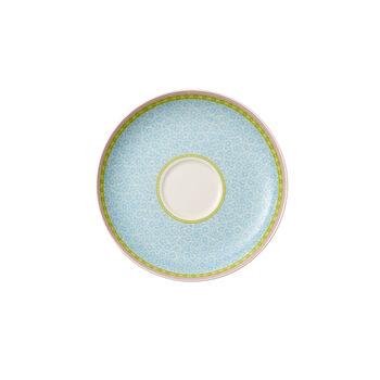 Rose Cottage Saucer tea cup blue 18cm
