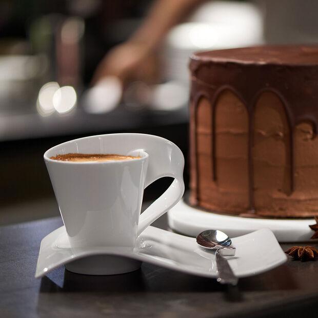 NewWave Caffè espresso cup saucer 17 x 13 cm, , large