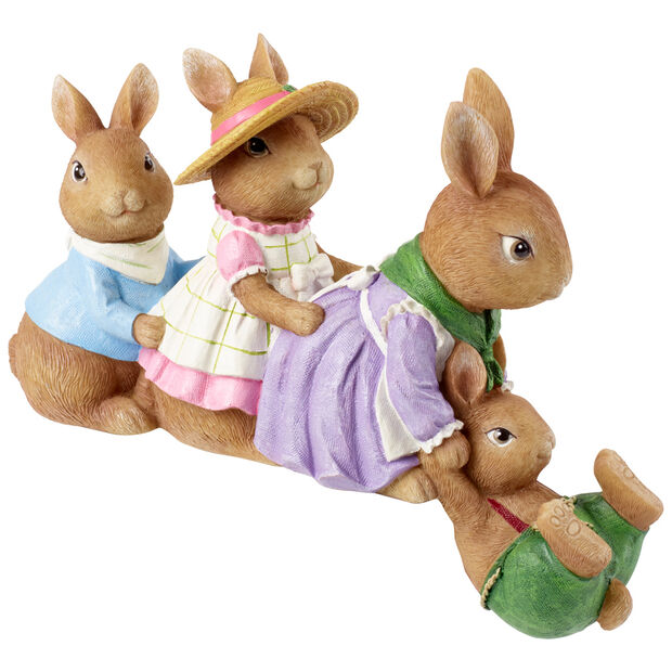 Spring Fantasy Accessories Deco Bunny Border 30,5x7,2x20cm, , large