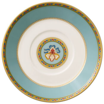 Samarkand Aquamarin mocha/espresso cup saucer