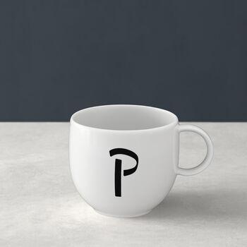 Letters Mug P 13x10x8cm