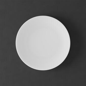 MetroChic blanc Dessert/breakfast plate 22x22x2cm