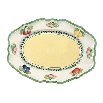 French Garden Fleurence oval plate 37 cm