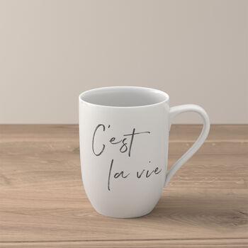 "Statement mug ""C'est la vie"""
