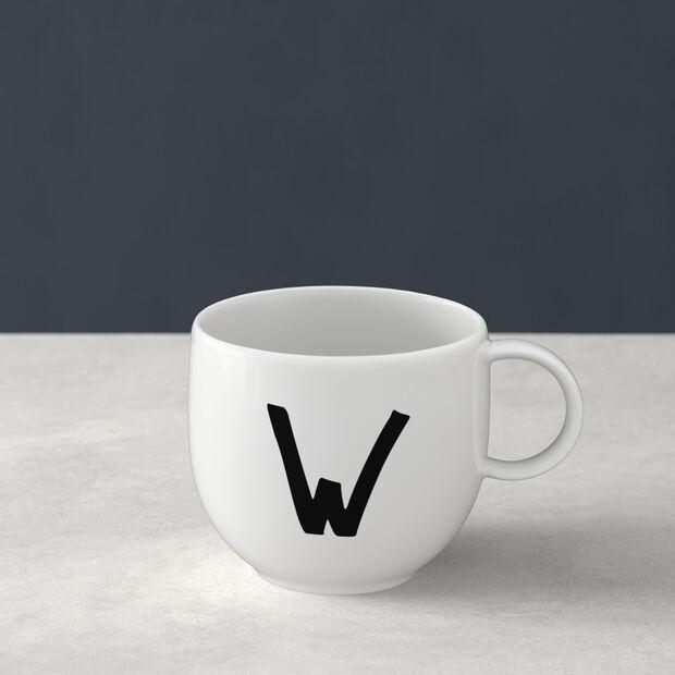 Letters Mug W 13x10x8cm, , large
