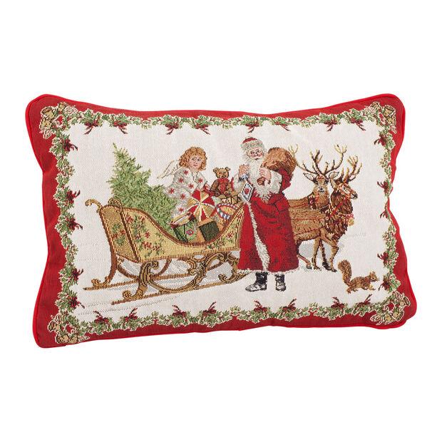 Toy's Fantasy Gobelin reversible cushion, multicoloured, 32 x 48 cm, , large