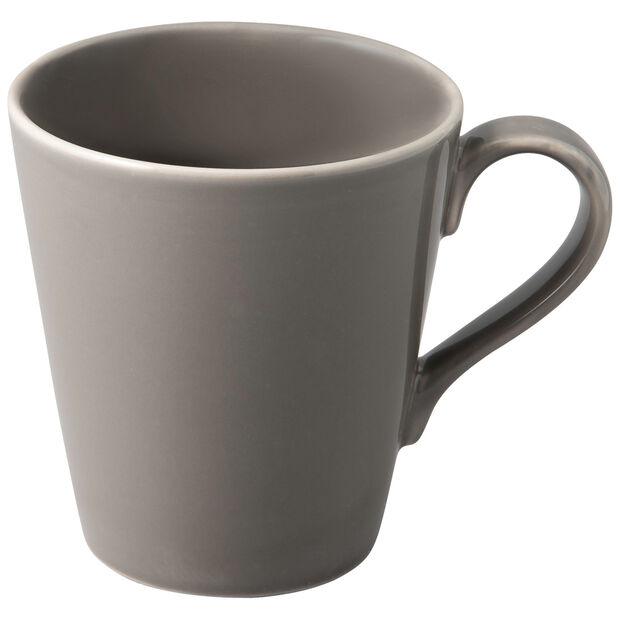 Organic Taupe Mug 12,5x9x10cm, , large