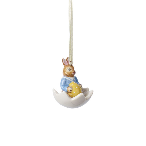 Bunny Tales ornament Max in eggshell, , large