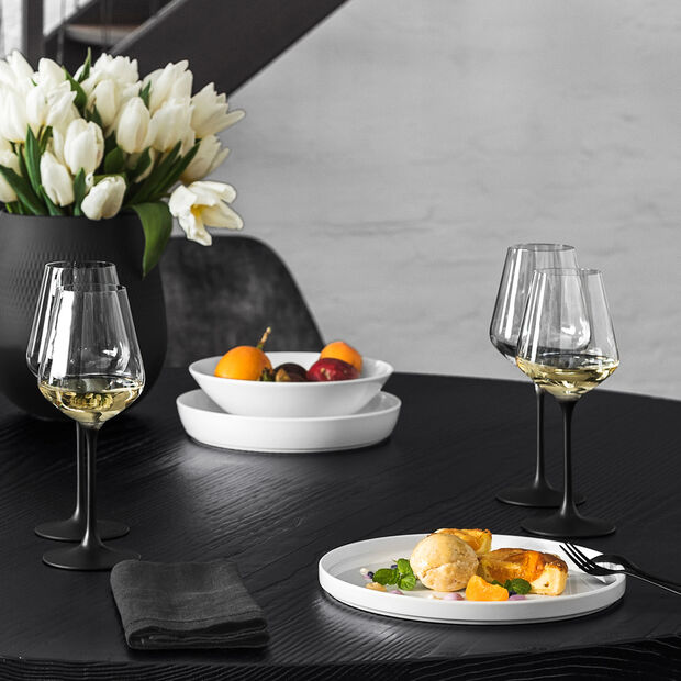 Manufacture Rock white wine glass, 4 pieces, 380 ml, , large