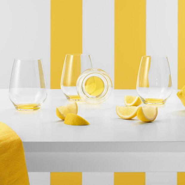 Colourful Life Lemon Pie cocktail/water glass set 4 pieces, , large