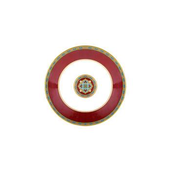Samarkand Rubin mocha/espresso cup saucer