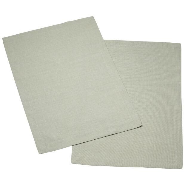 Textil Uni TREND Placemat fog green Set 2 35x50cm, , large