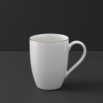 Anmut Gold mug, white/gold