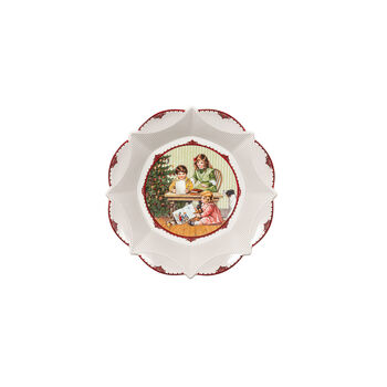 Toy's Fantasy Bowl large, Kids with wish list 24,5x24,5x4cm