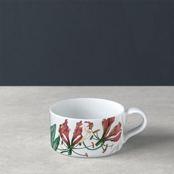 Avarua tea cup, 230 ml, white/multicoloured