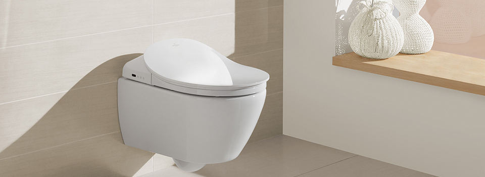Shower toilet ViClean. Bidet toilets from Villeroy   Boch   for a high level of comfort