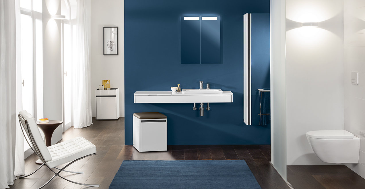 Villeroy and boch bathroom cabinets - More Comfort To Feel Good