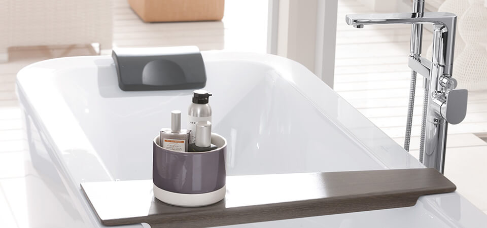 Pure Relaxation   A Bathtub Means Relaxation, Cosiness And Invigorating  Wellness Moments At Home   But What If There Is Almost No Free Space  Available?