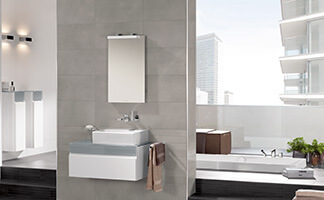 Bath under a sloping roof clever use of space villeroy for Planner bagno 3d