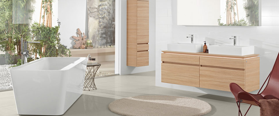 Spa bathroom - Squaro edge 12, Memento, Legato