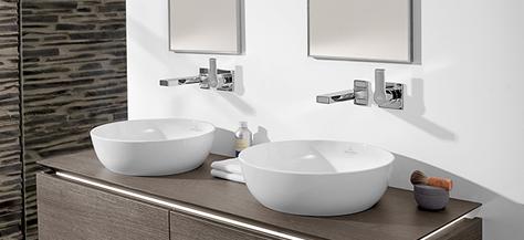 vanity units washbasins bathing with style villeroy boch