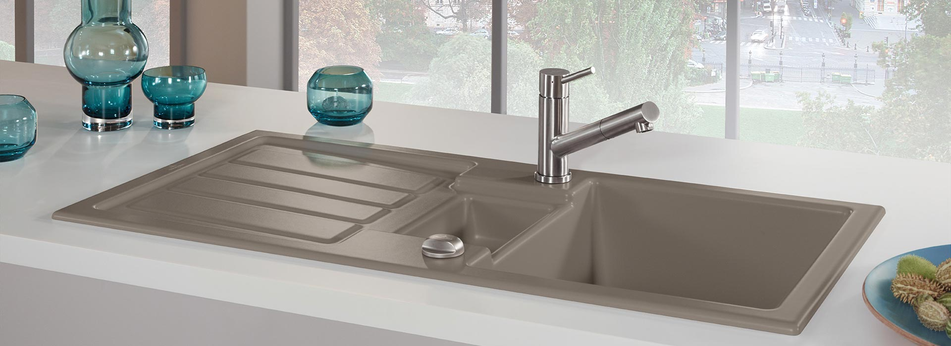 Built In Sink In Outstanding Quality From Villeroy Amp Boch