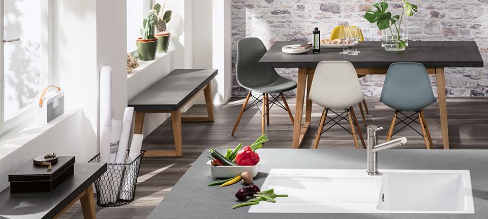 design your kitchen with villeroy boch. Black Bedroom Furniture Sets. Home Design Ideas