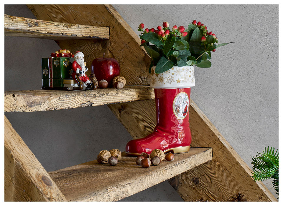 Weihnachtsdeko Roller.Christmas Decorations From Villeroy Boch