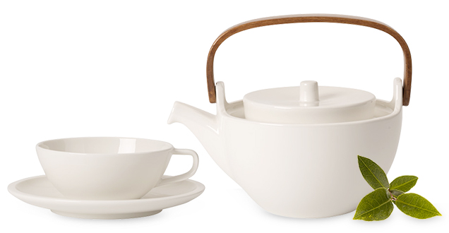 artesano tea service time out from your everyday routine villeroy boch. Black Bedroom Furniture Sets. Home Design Ideas