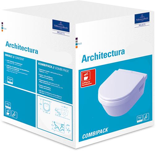 architectura wc complete 5684h1 villeroy boch. Black Bedroom Furniture Sets. Home Design Ideas