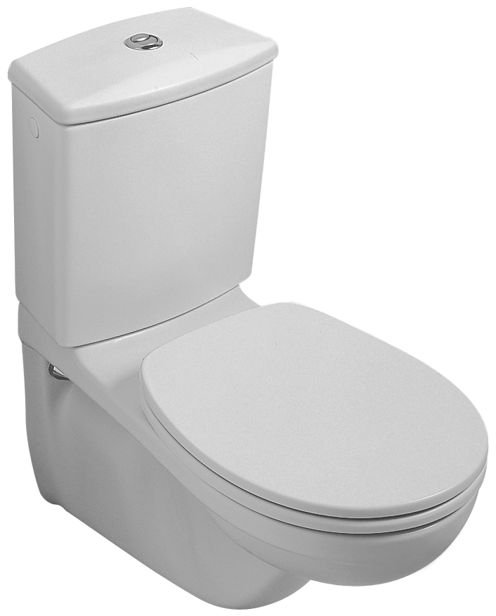 O novo WC  Wall mounted close coupled WC suites  Toilets. Productdetail