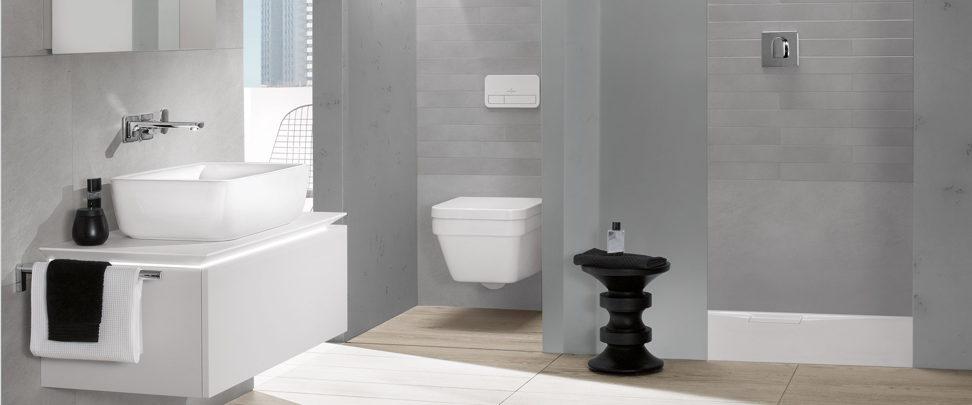 Architectura Collection By Villeroy & Boch - Timeless Design For ... Designer Toilette Badezimmer High Tech