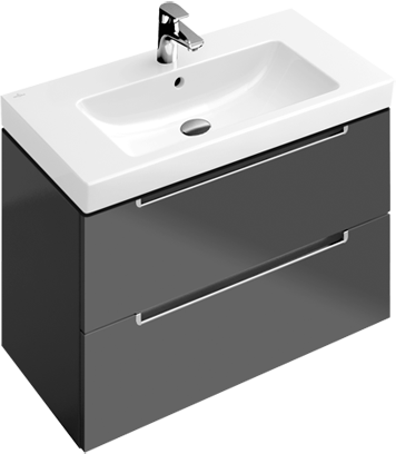 pic A696FP 717580   A69510N9 Bathroom furniture. Subway 2 0 collection from Villeroy   Boch   the harmony of forms